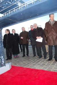 Volker Schlotmann (SPD), Anke Voßberg (Aktionsbündnis), Michael Roolf (FDP), Matthias Mantei (CDU), Dr. Günther Jikeli (Aktionsbündnis), Helmut Holter (Linke)